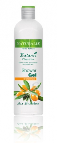 NATURALIS Shower gel with extract of sea-buckthorn 400ml