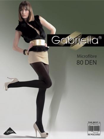 Gabriella колготки Microfibre 80den 5 размер 123