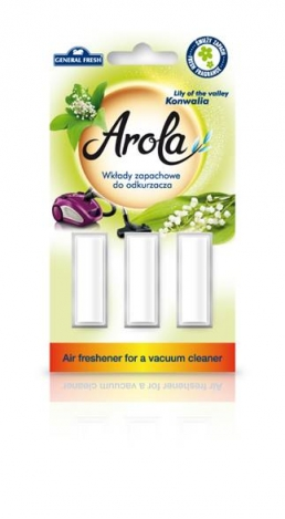 Air freshener for a vacuum cleaner Arola. Lily of the valley