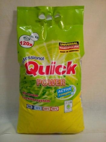 Quick Power washing detergent universal 10kg