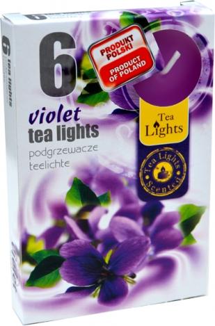 Ароматизированные чайные свечи (6шт.) - ФИАЛКА