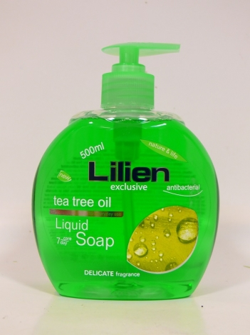 LILIEN liquid soap anti-bacterial 500ml Tea tree oil