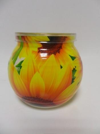Ароматизированная свеча в стекле Медовая дыня 85 г