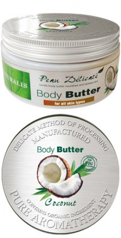 NATURALIS Body butter 300ml. Coconut