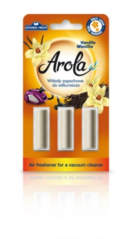 Air freshener for a vacuum cleaner Arola. Vanilla