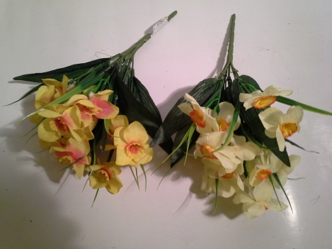 Artificial flower of narcissus-7, 26cm