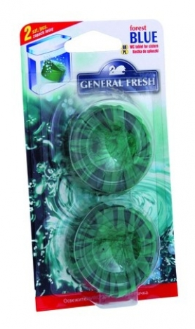 BLUE - Freshener for flushing tank - 2 pcs.